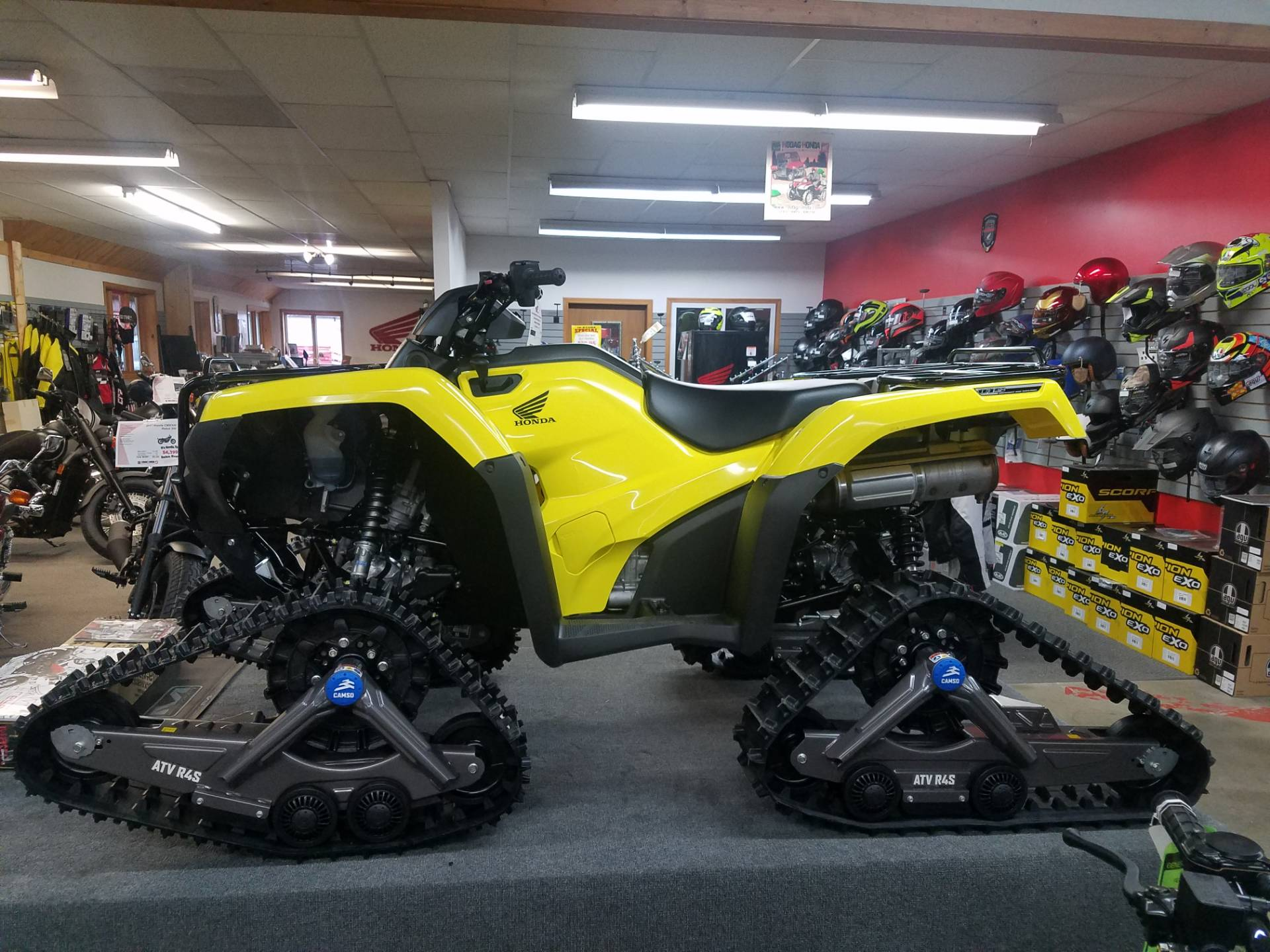 2018 Honda FourTrax Rancher 4x4 DCT IRS EPS in Rhinelander, Wisconsin