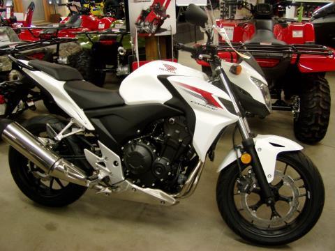 2014 Honda CB500F in Rhinelander, Wisconsin