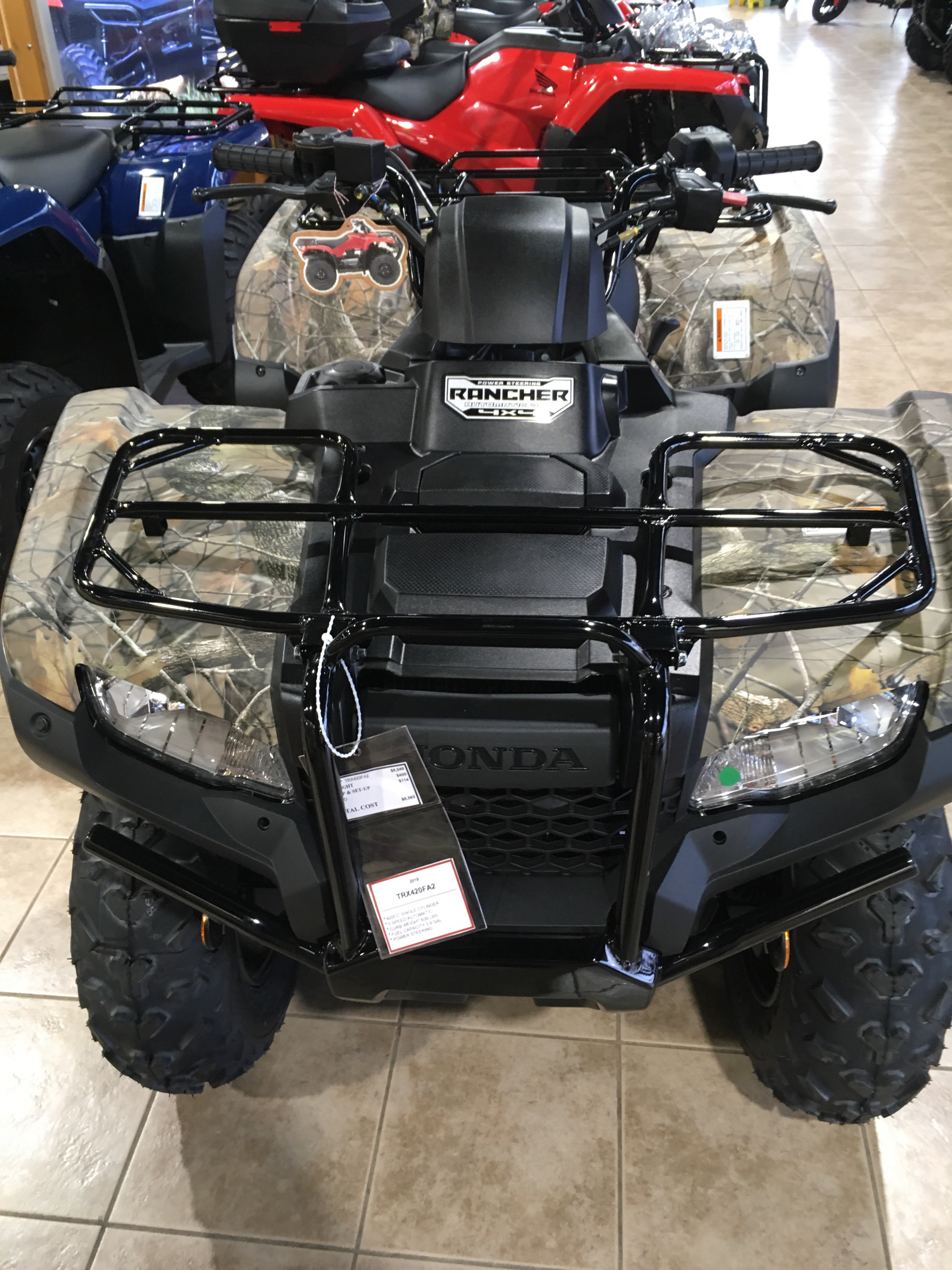 2019 Honda FourTrax Rancher 4x4 DCT EPS in Kendallville, Indiana