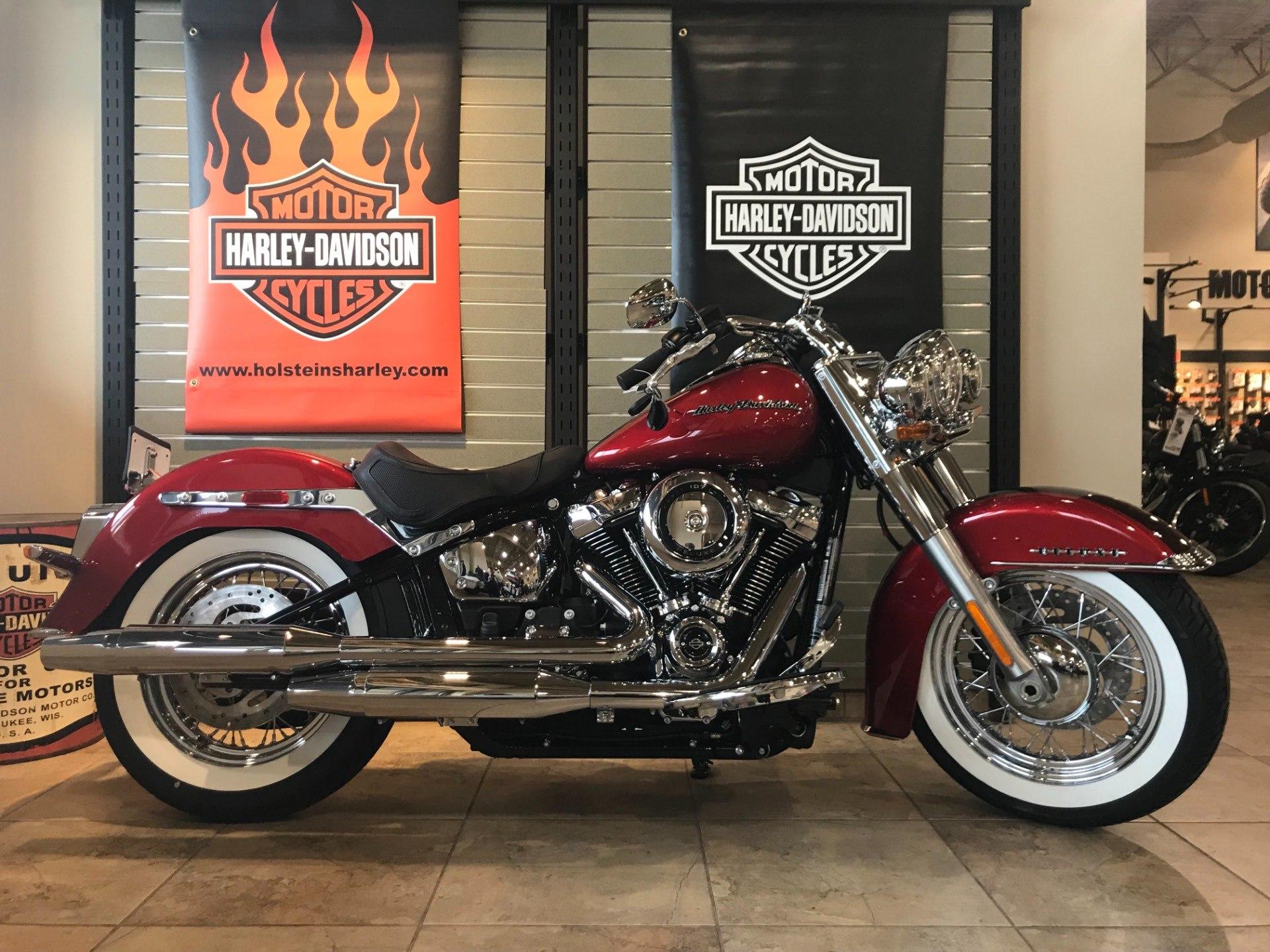 2018 Harley-Davidson Softail® Deluxe 107 Motorcycles Omaha Nebraska ...