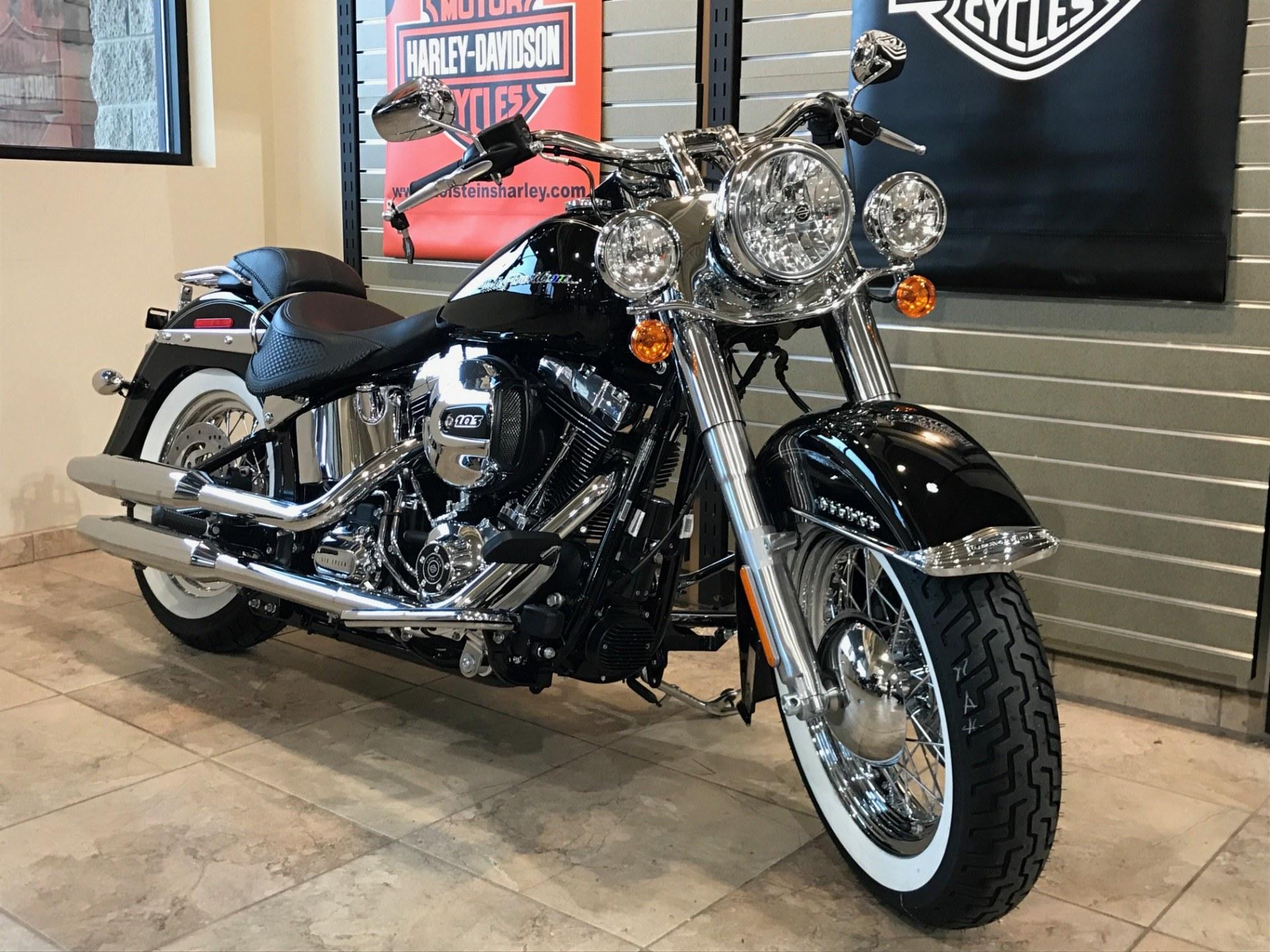 2017 Harley-Davidson Softail® Deluxe Motorcycles Omaha Nebraska 039028