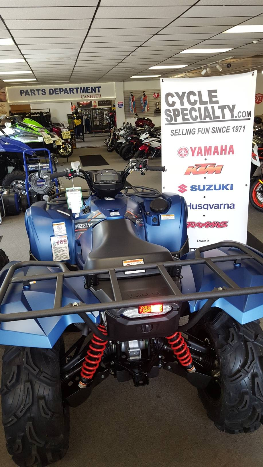 2019 Yamaha GRIZZLY 700 EPS SPECIAL EDITION in Fayetteville, Georgia - Photo 3