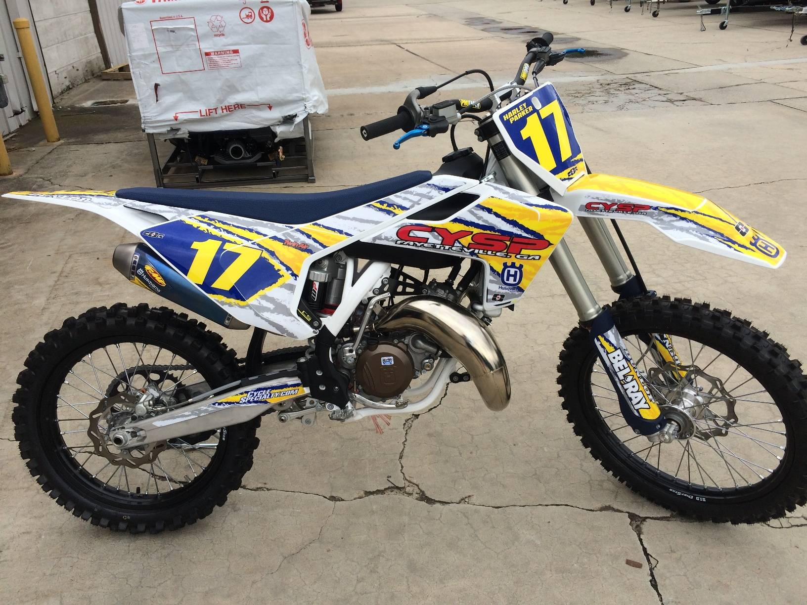2017 Husqvarna TC 125 for sale 6655