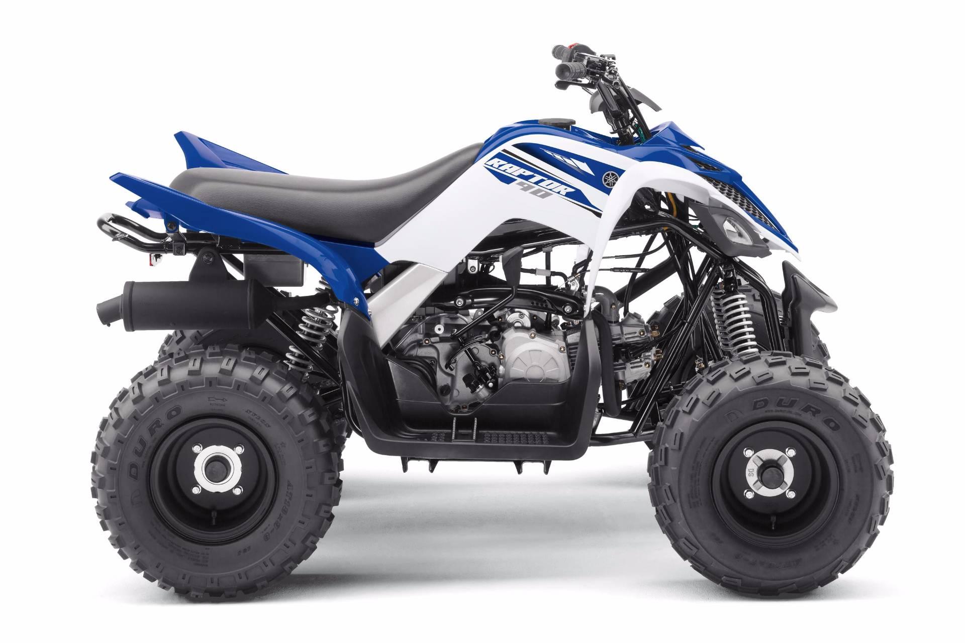 2018 Yamaha Raptor 90 4
