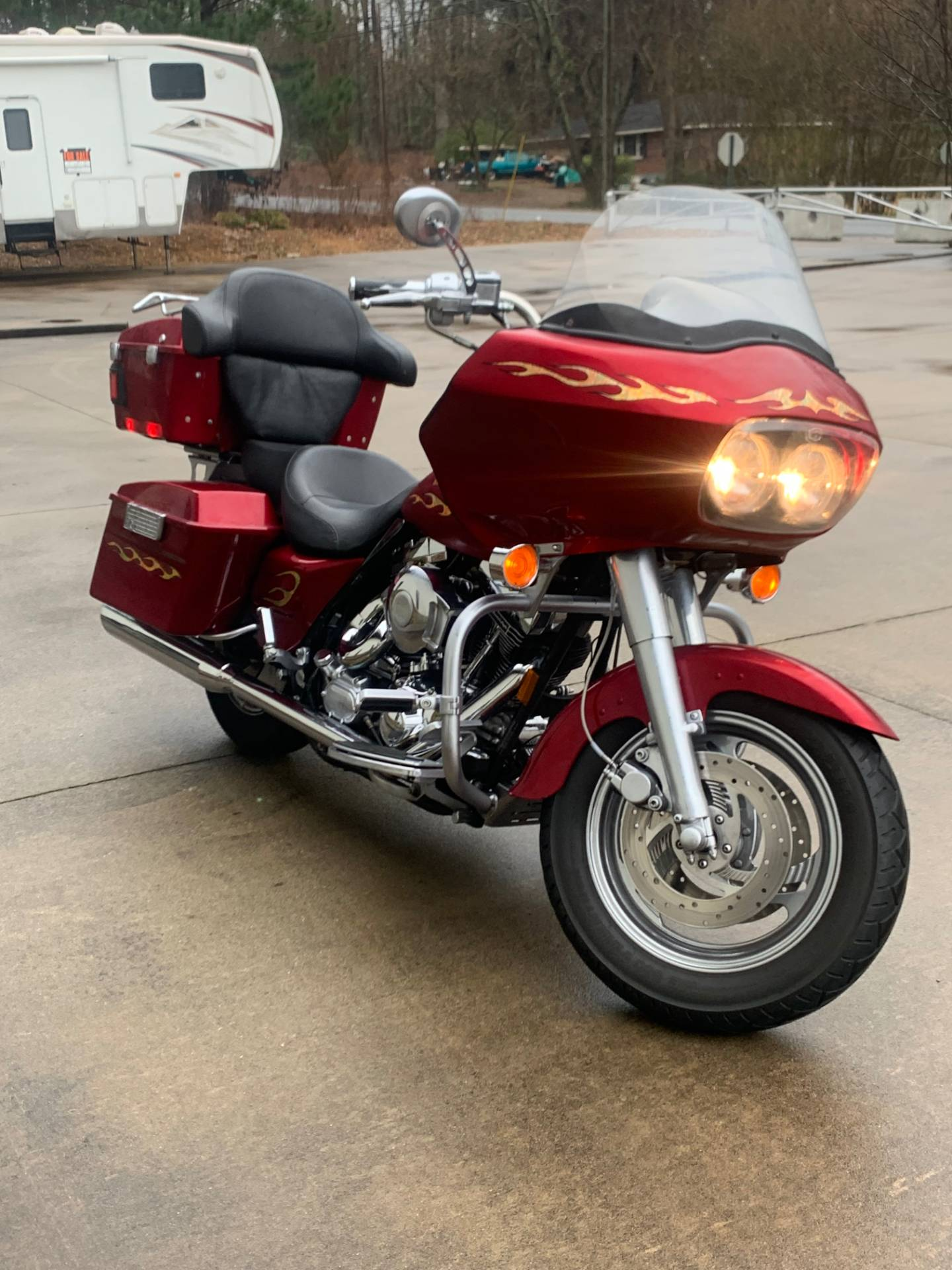 "1999 Harley-Davidson ""SCREAMING EAGLE"" ROADGLIDE 5"