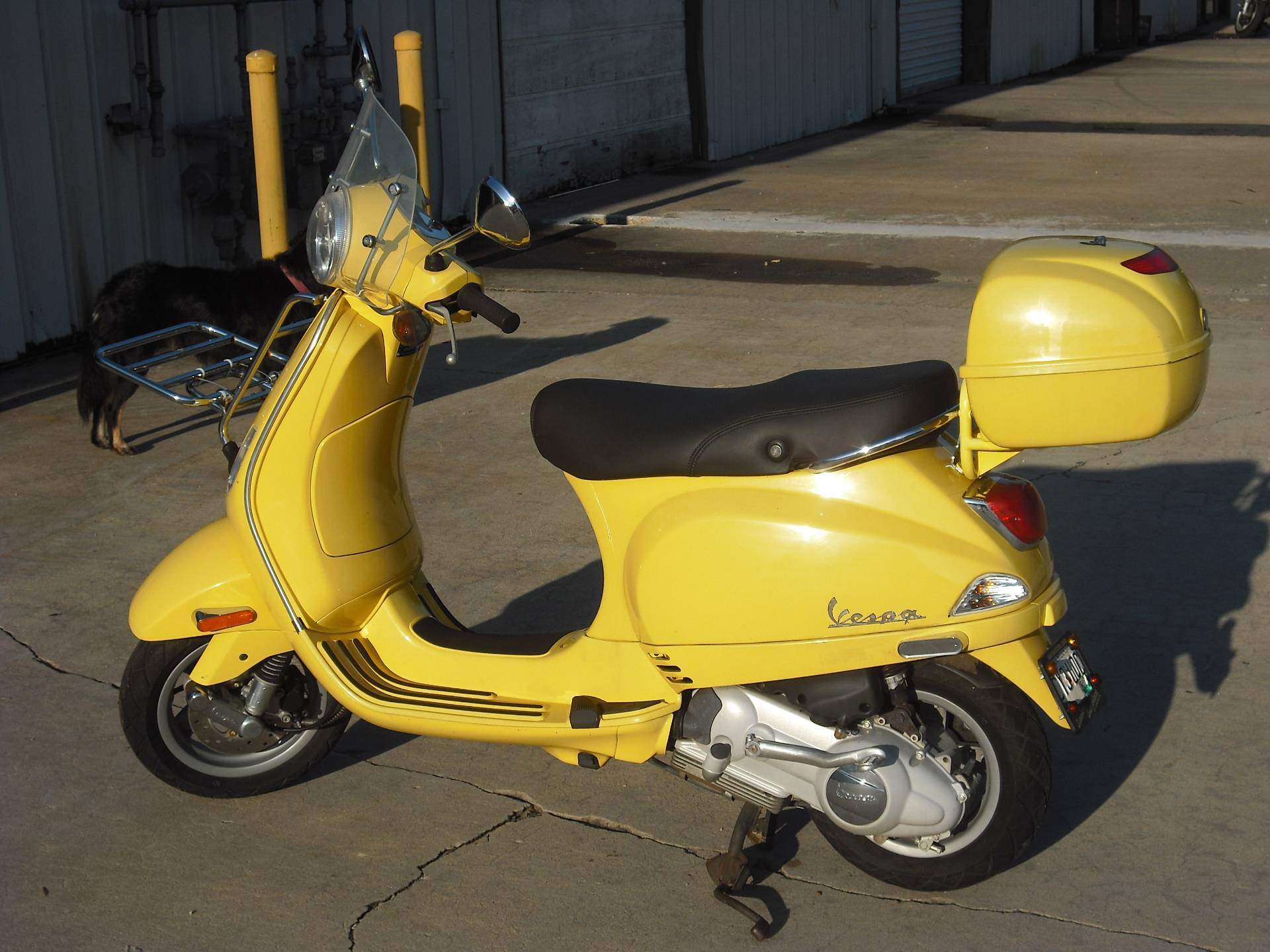 2007 LX 150 - YELLOW