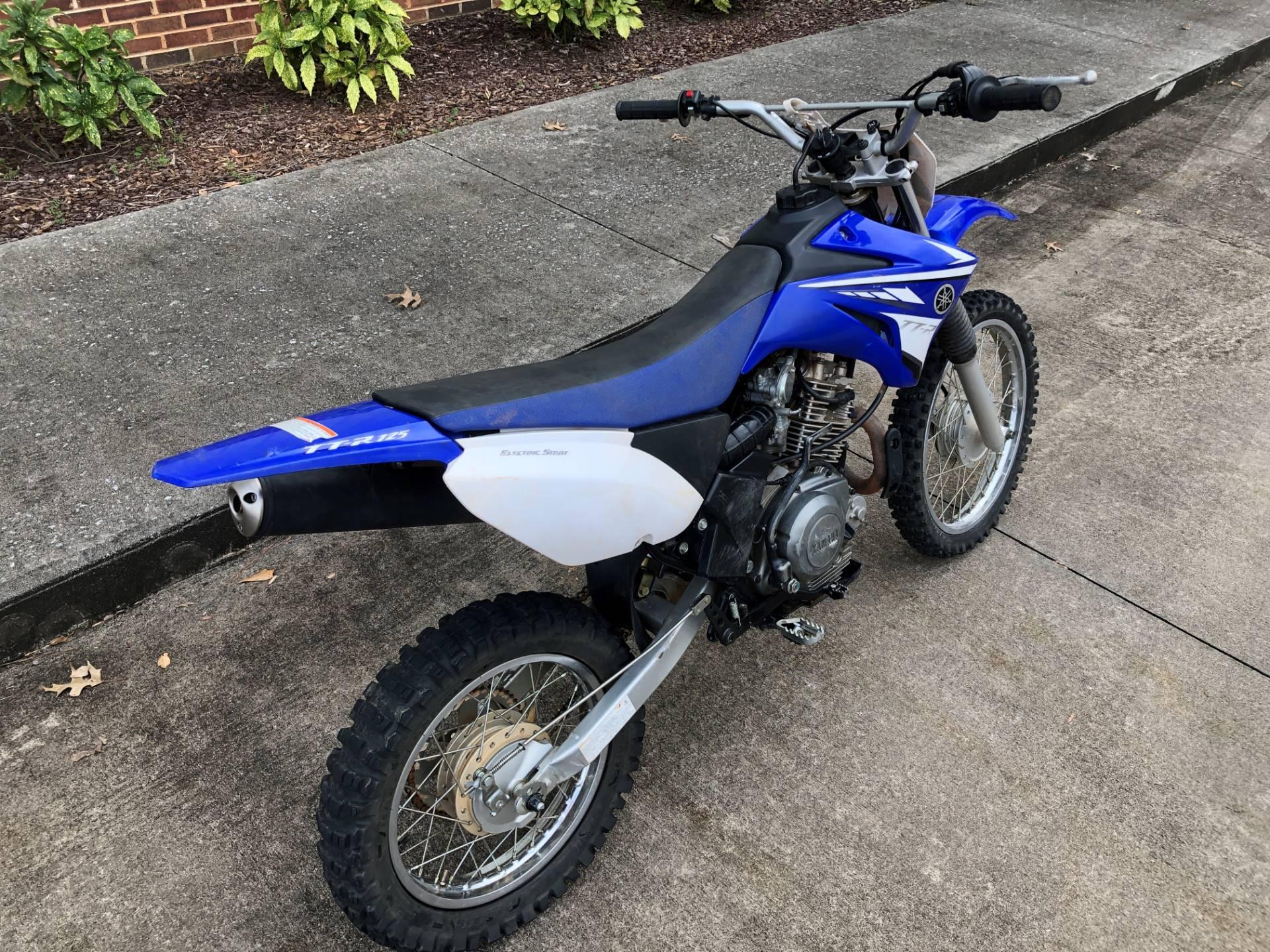2008 Yamaha TTR125LE 7
