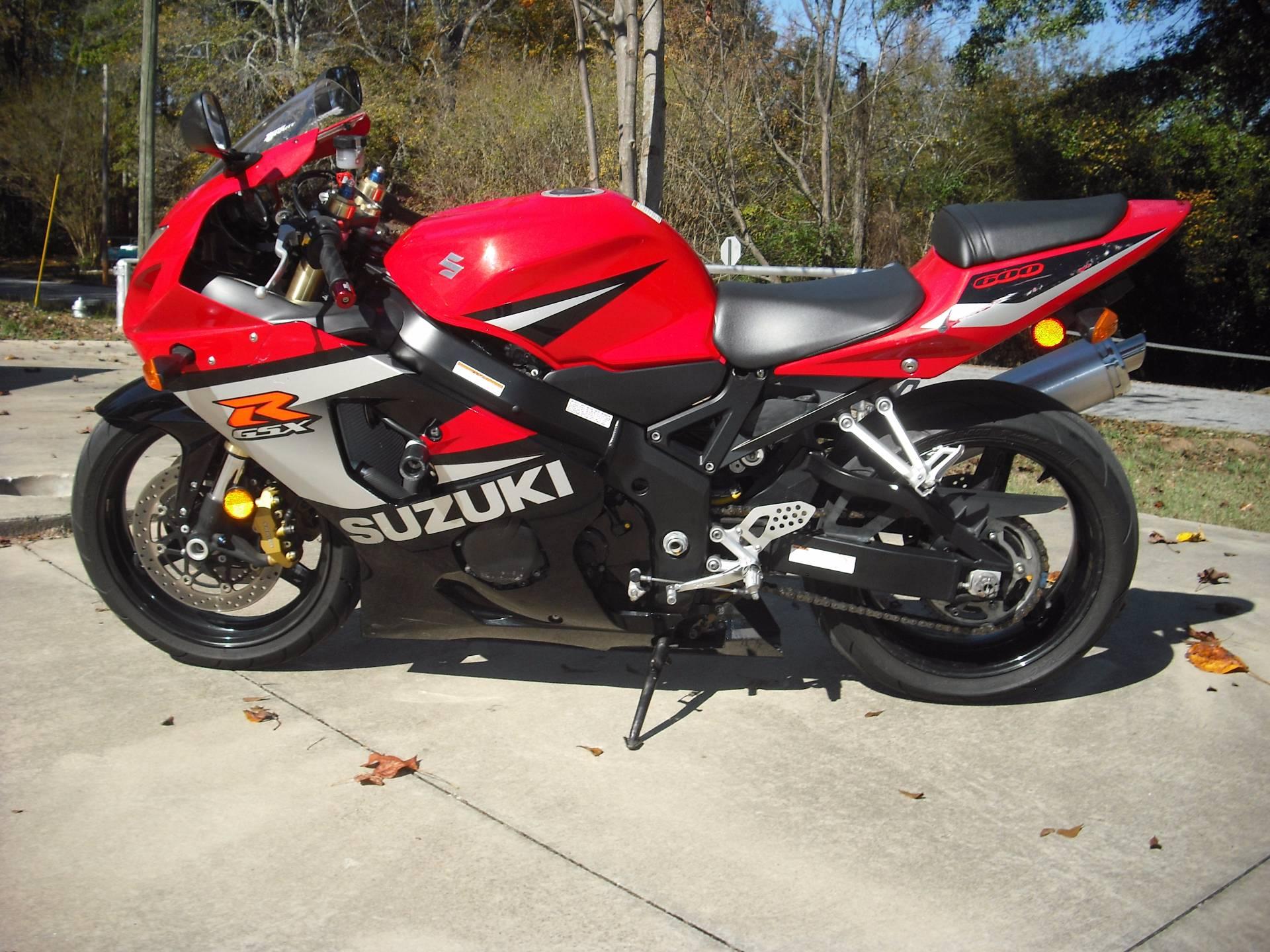 2005 GSXR600