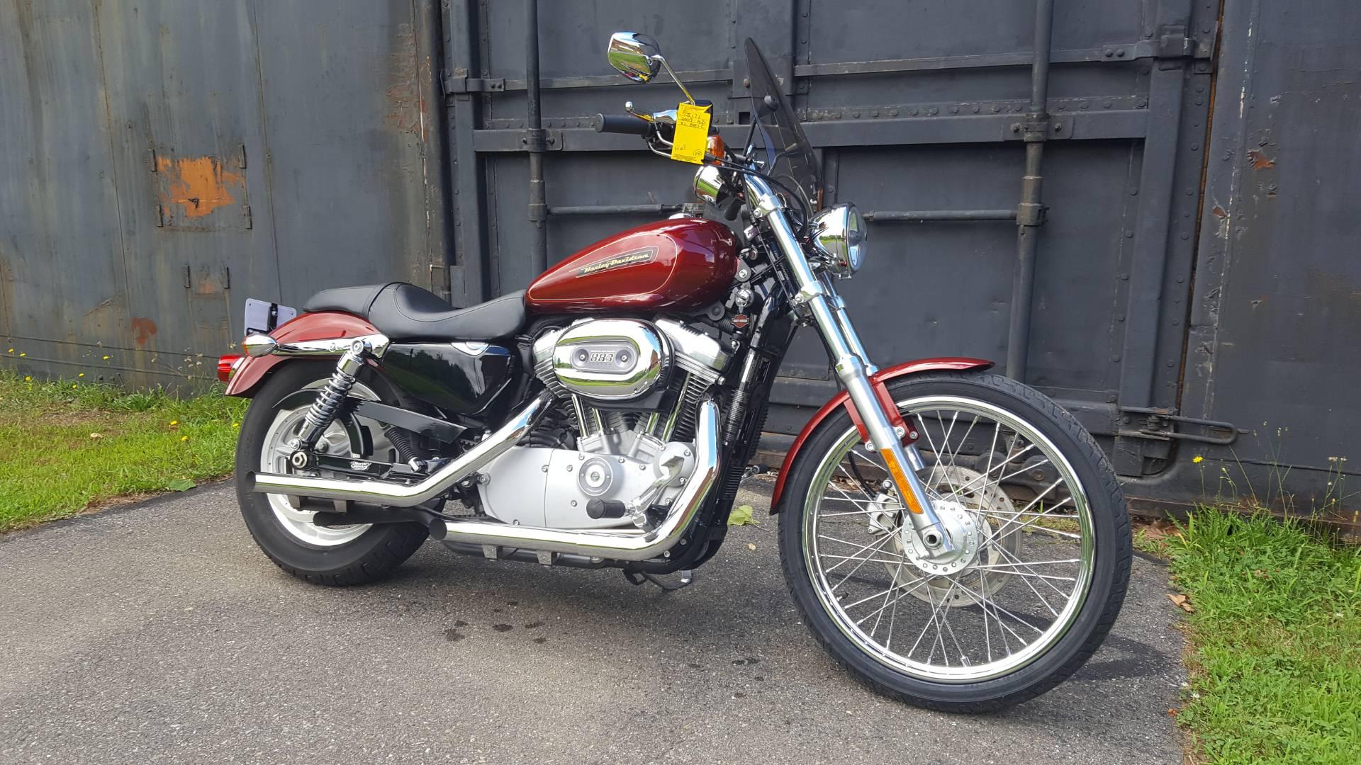 2009 harley-davidson sportster® 883 custom motorcycles augusta