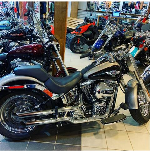 2016 Harley-Davidson Fat Boy in Augusta, Maine - Photo 1