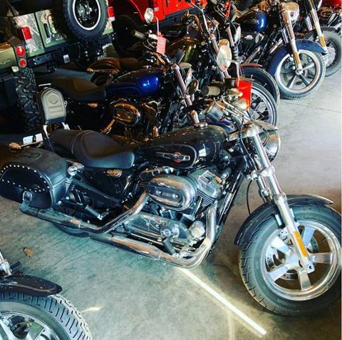 2014 Harley-Davidson Sportster 1200 Custom in Augusta, Maine - Photo 1