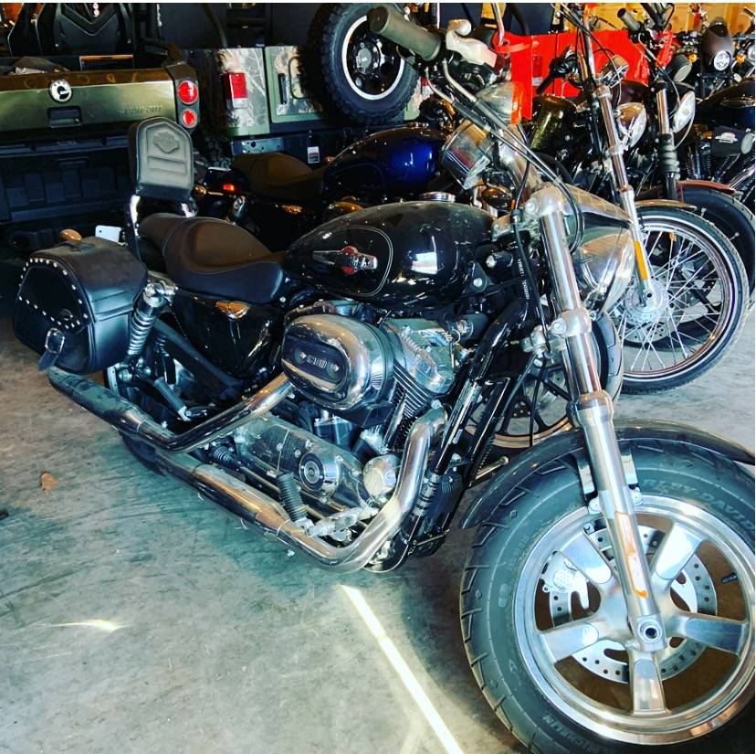 2014 Harley-Davidson Sportster 1200 Custom in Augusta, Maine - Photo 2