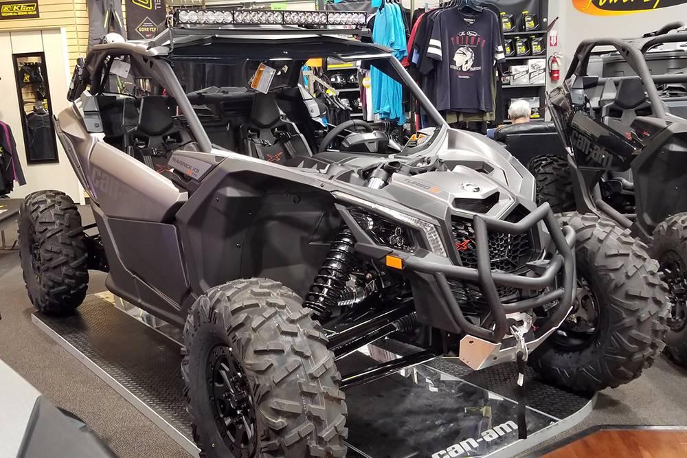2018 Can-Am™ Maverick X3 X rs Turbo R 1