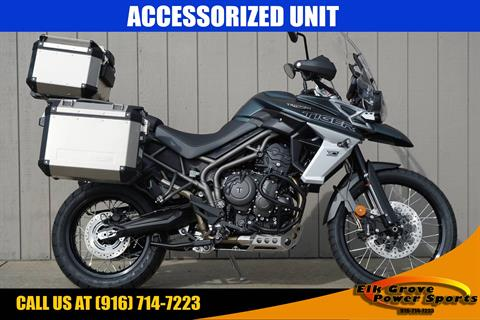 2019 Triumph Tiger 800 XCa in Elk Grove, California
