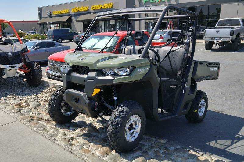 2017 Can-Am Defender DPS HD8 in Elk Grove, California
