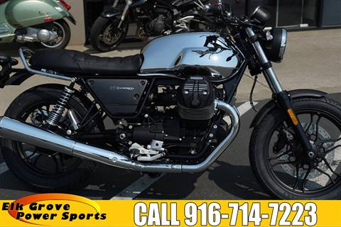 2018 Moto Guzzi V7 III Carbon Shine in Elk Grove, California - Photo 1