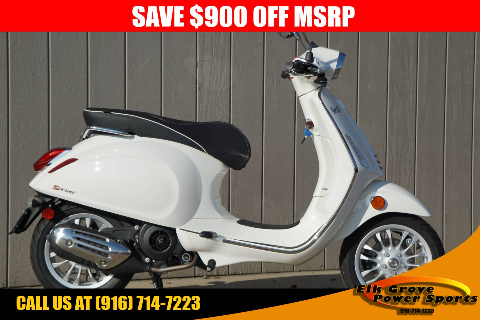 2017 Vespa Sprint 150 in Elk Grove, California - Photo 1