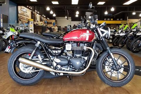 2017 Triumph Street Twin in Elk Grove, California