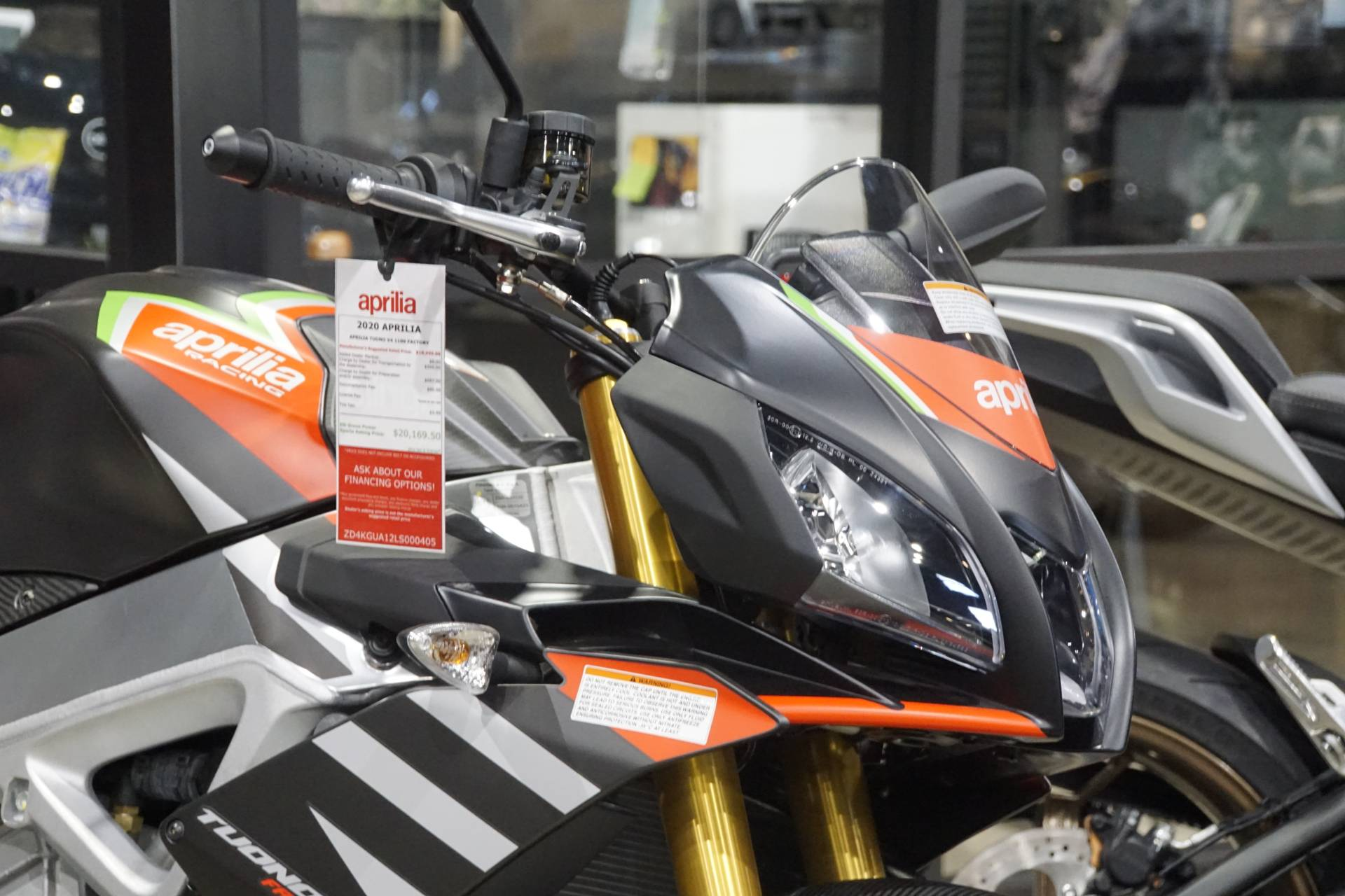 2020 Aprilia Tuono V4 1100 Factory in Elk Grove, California - Photo 4