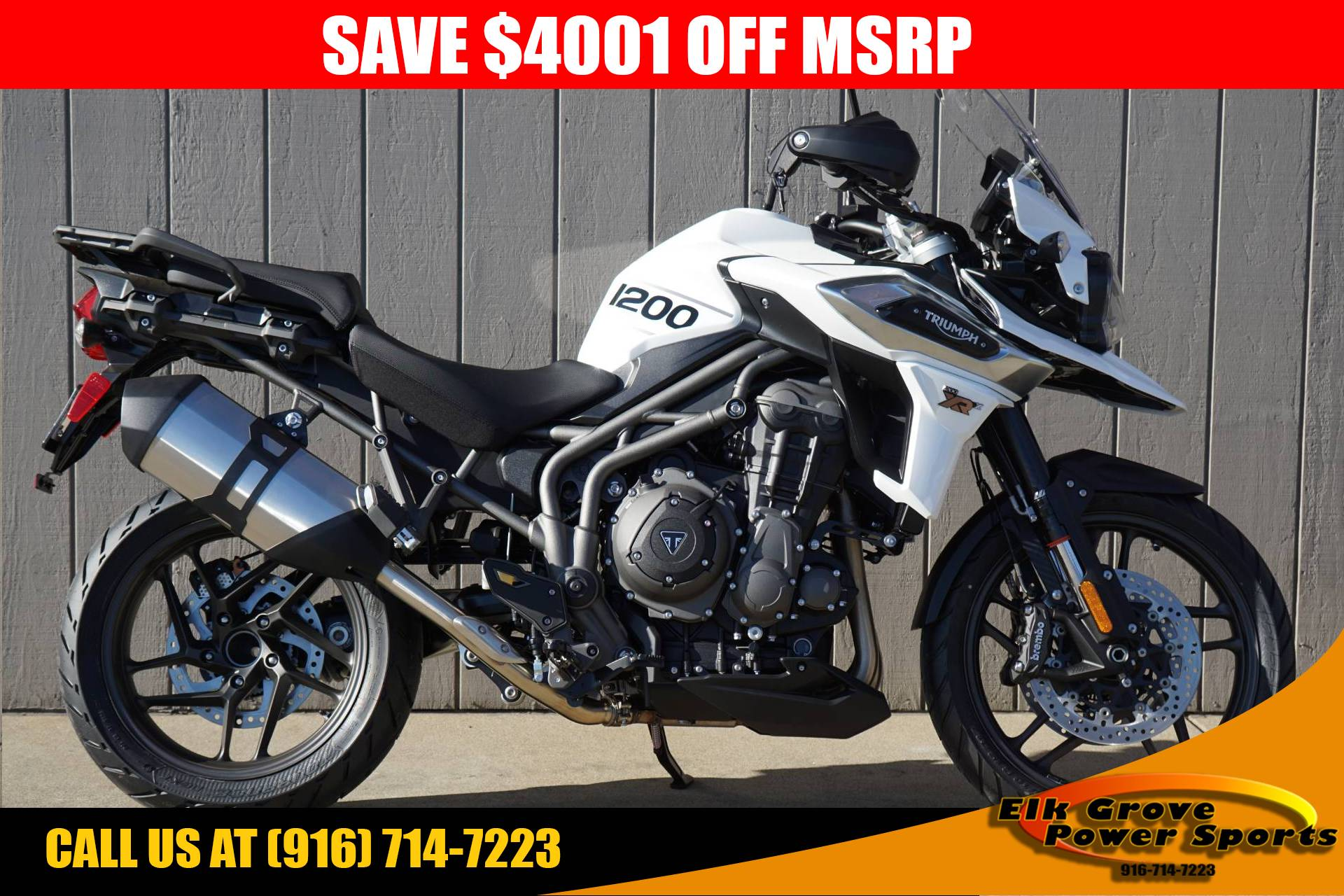 New 2018 Triumph Tiger 1200 Xrx Low Motorcycles In Elk Grove Ca