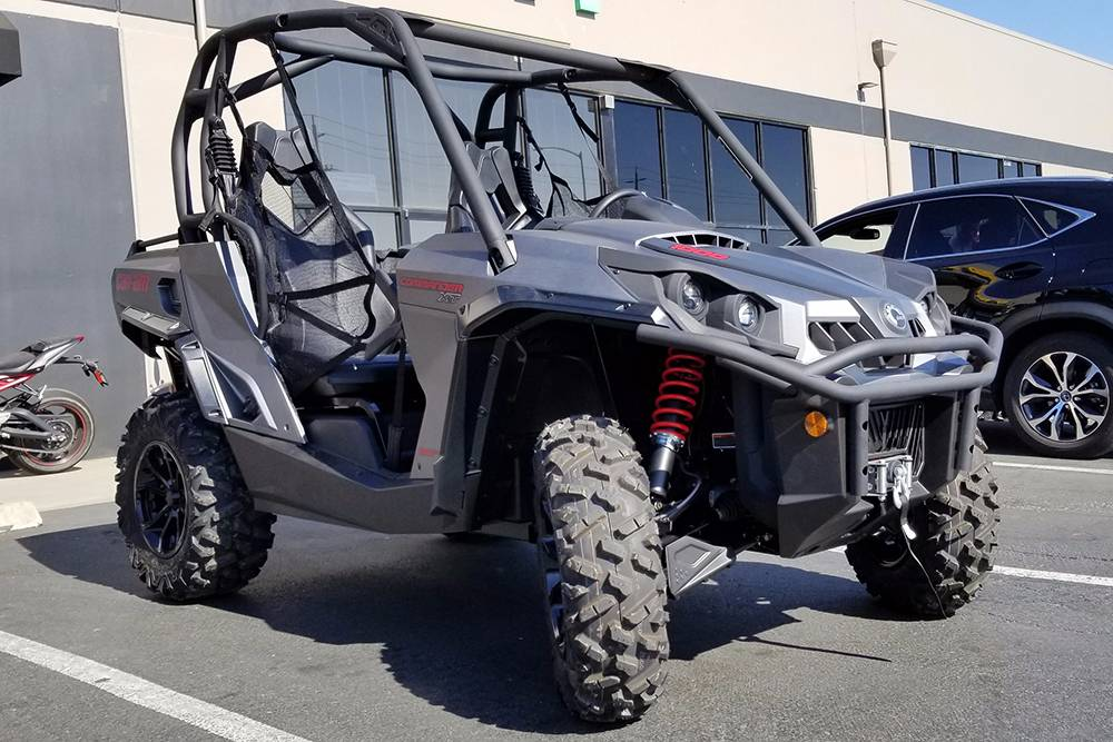 2017 Can-Am Commander XT 1000 in Elk Grove, California