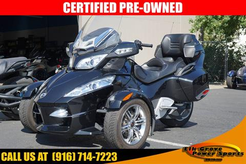 2010 Can-Am Spyder™ RT-S SE5 in Elk Grove, California