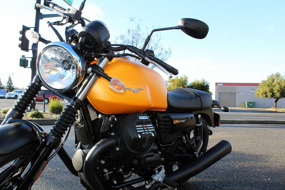 2017 Moto Guzzi V7 III Stone in Elk Grove, California