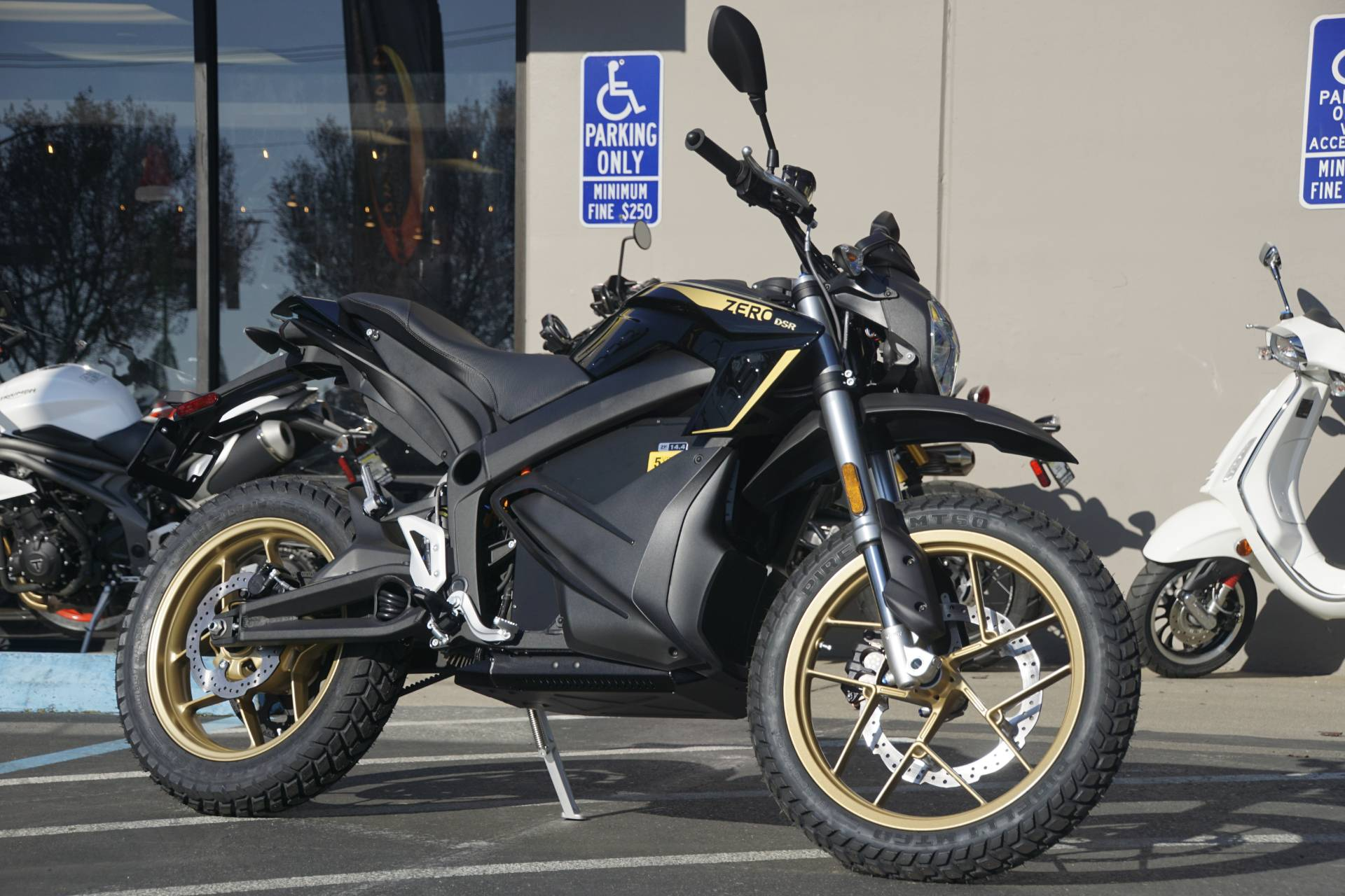 2020 Zero Motorcycles DSR ZF14.4 + Charge Tank in Elk Grove, California - Photo 1