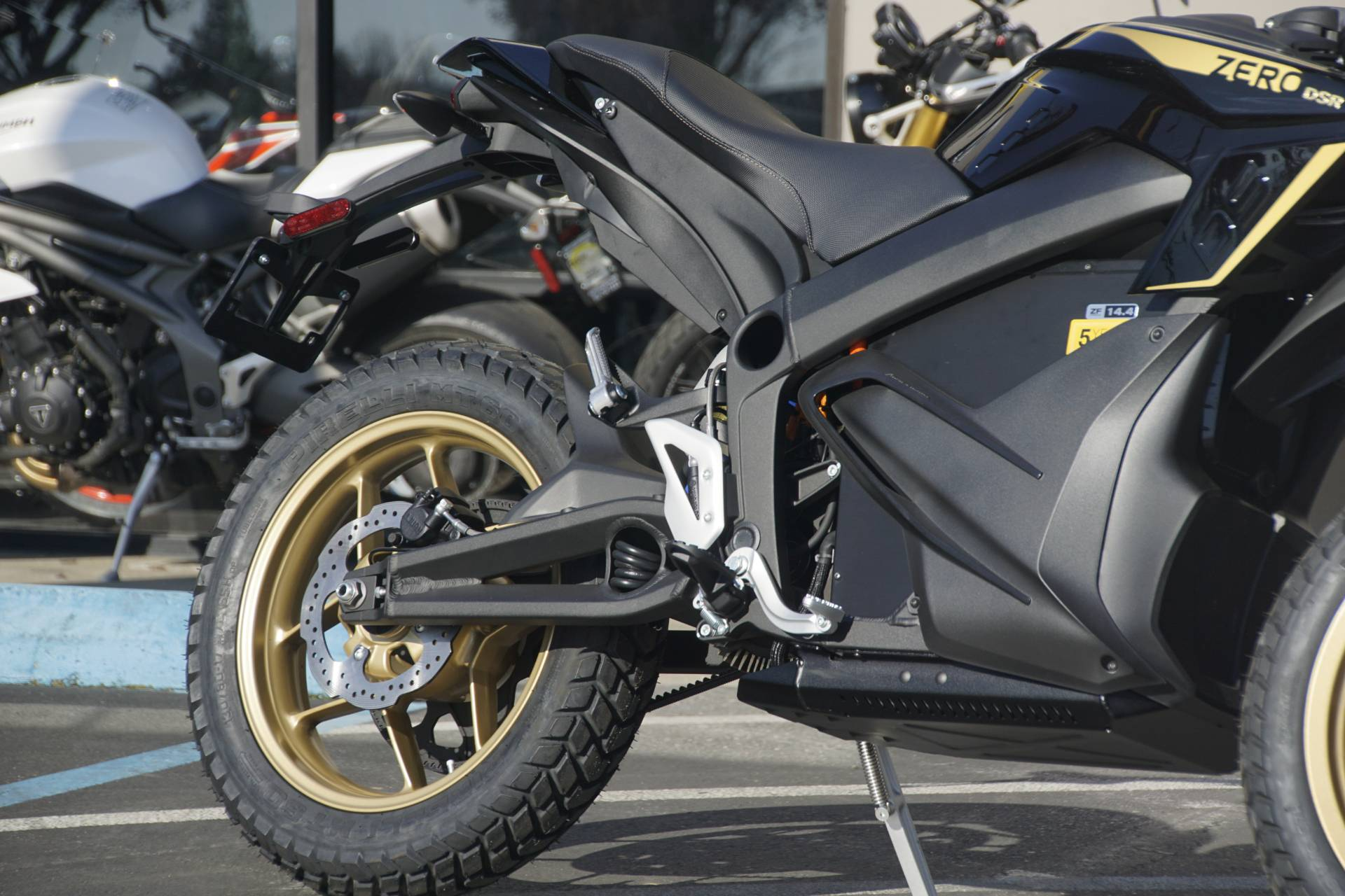 2020 Zero Motorcycles DSR ZF14.4 + Charge Tank in Elk Grove, California - Photo 4