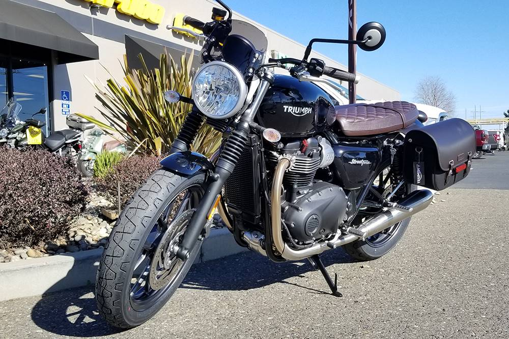 new 2018 triumph street twin motorcycles in elk grove ca. Black Bedroom Furniture Sets. Home Design Ideas