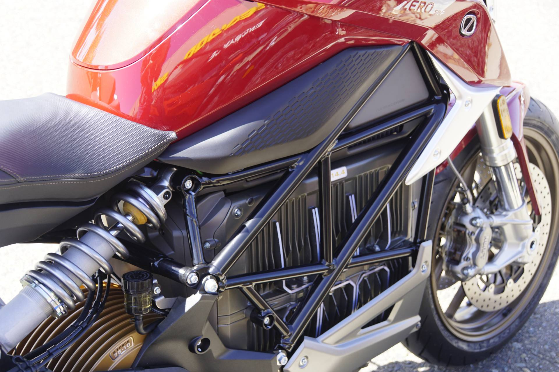 2020 Zero Motorcycles SR/F NA ZF14.4 Standard in Elk Grove, California - Photo 13
