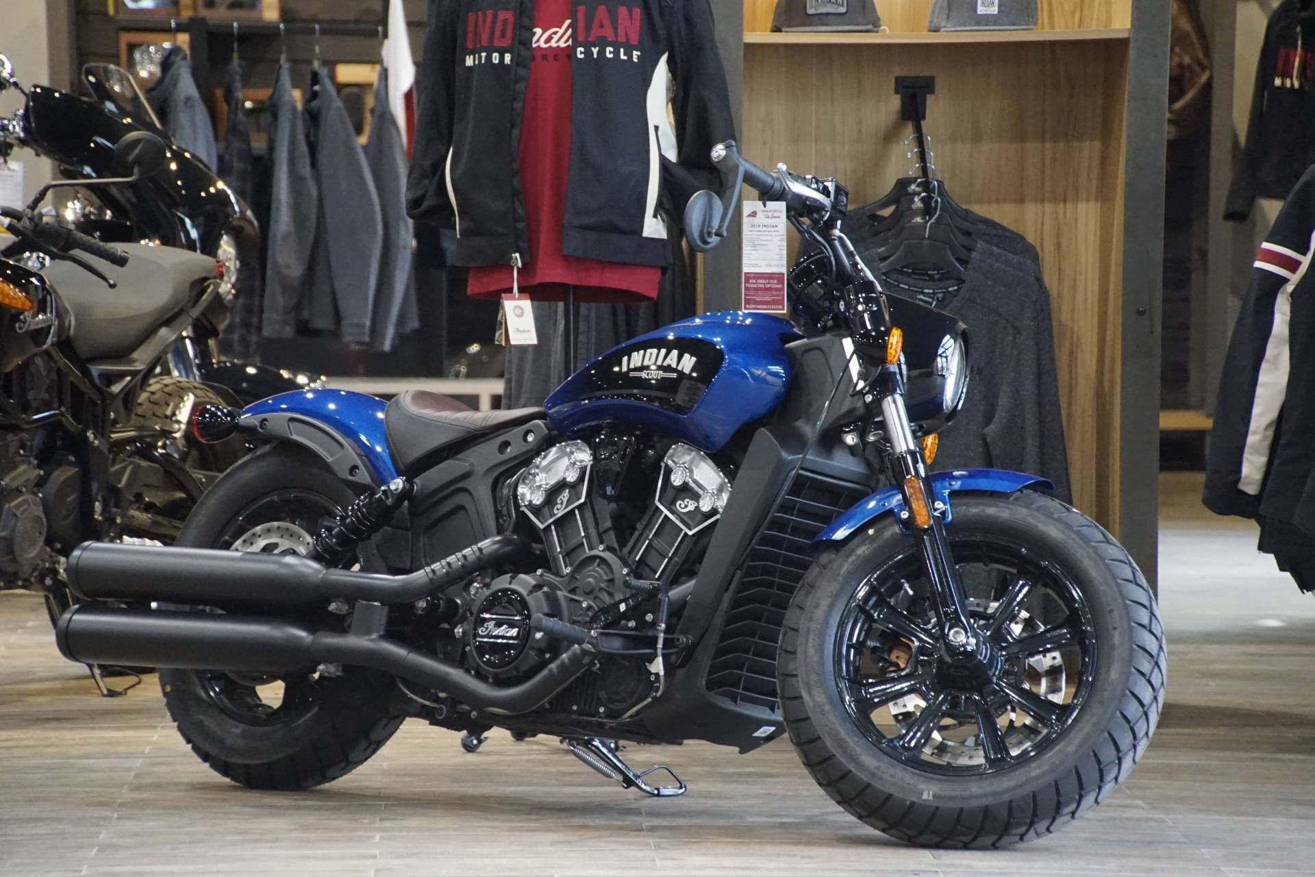 2019 Indian Scout® Bobber ABS Icon Series in Elk Grove, California - Photo 1