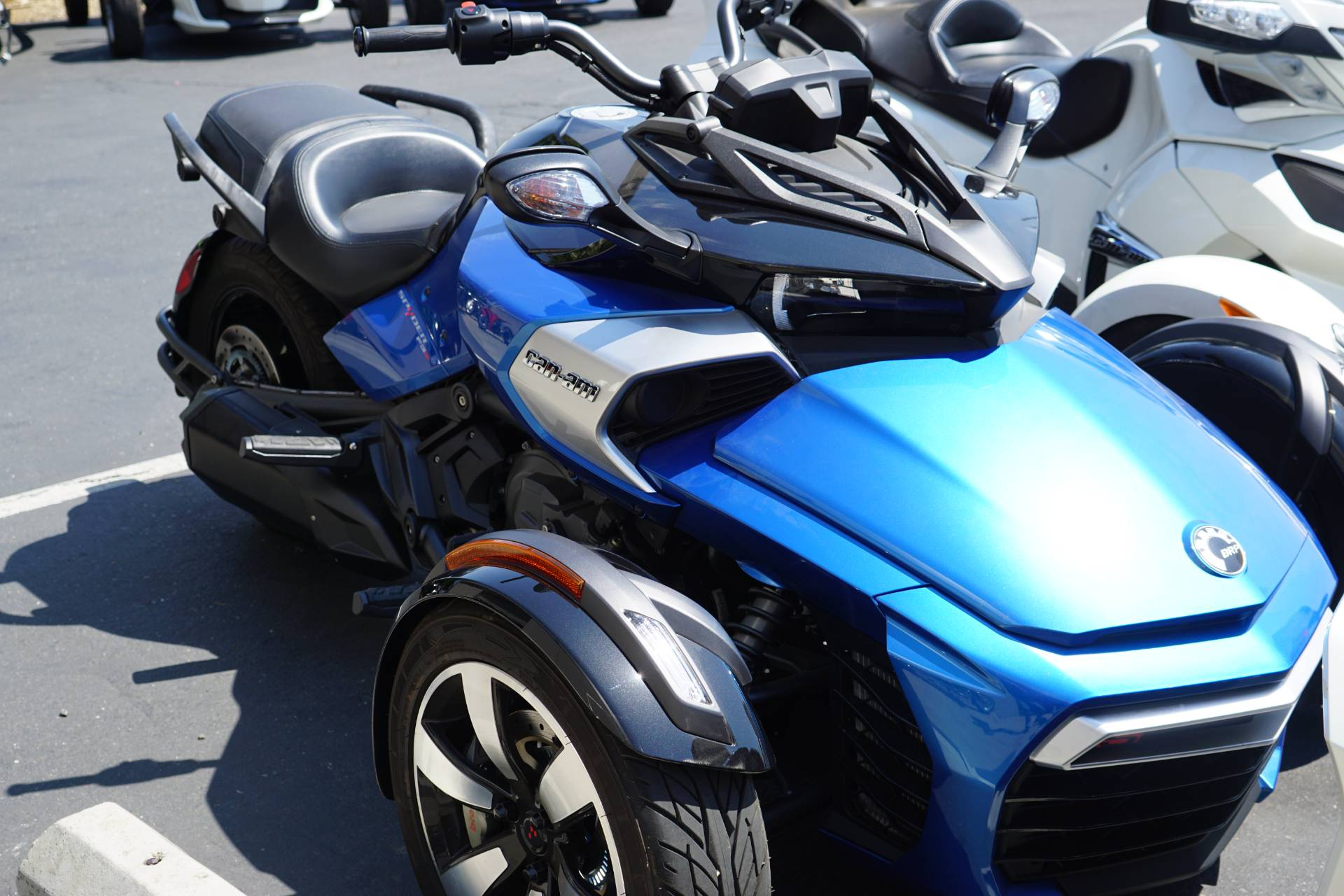 2017 Can-Am Spyder F3-S SE6 in Elk Grove, California