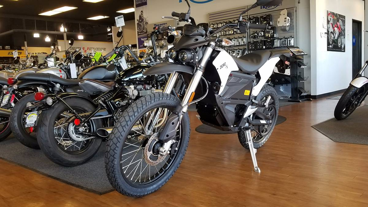 2018 Zero Motorcycles FX ZF7.2 Integrated in Elk Grove, California
