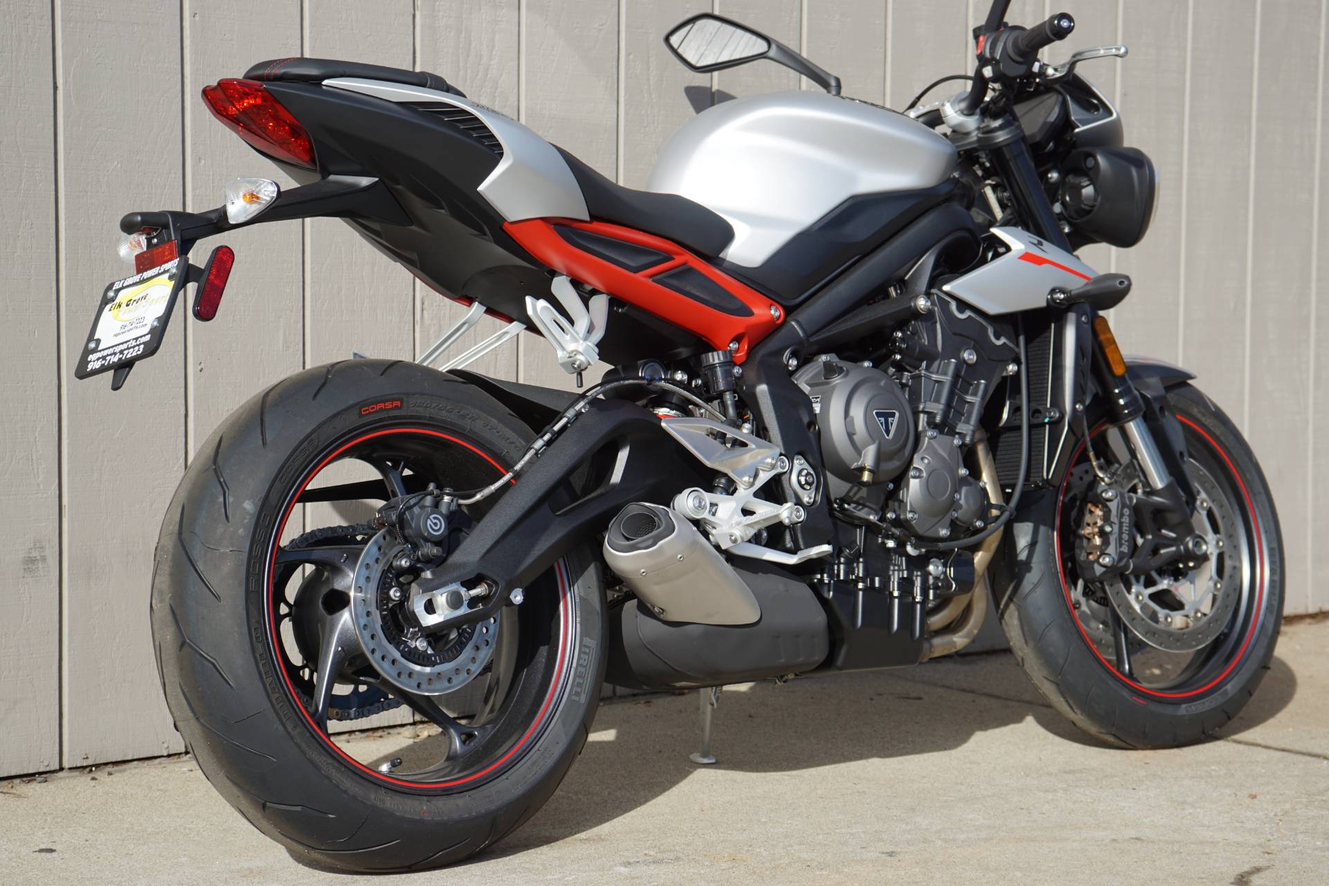 2018 Triumph Street Triple R in Elk Grove, California