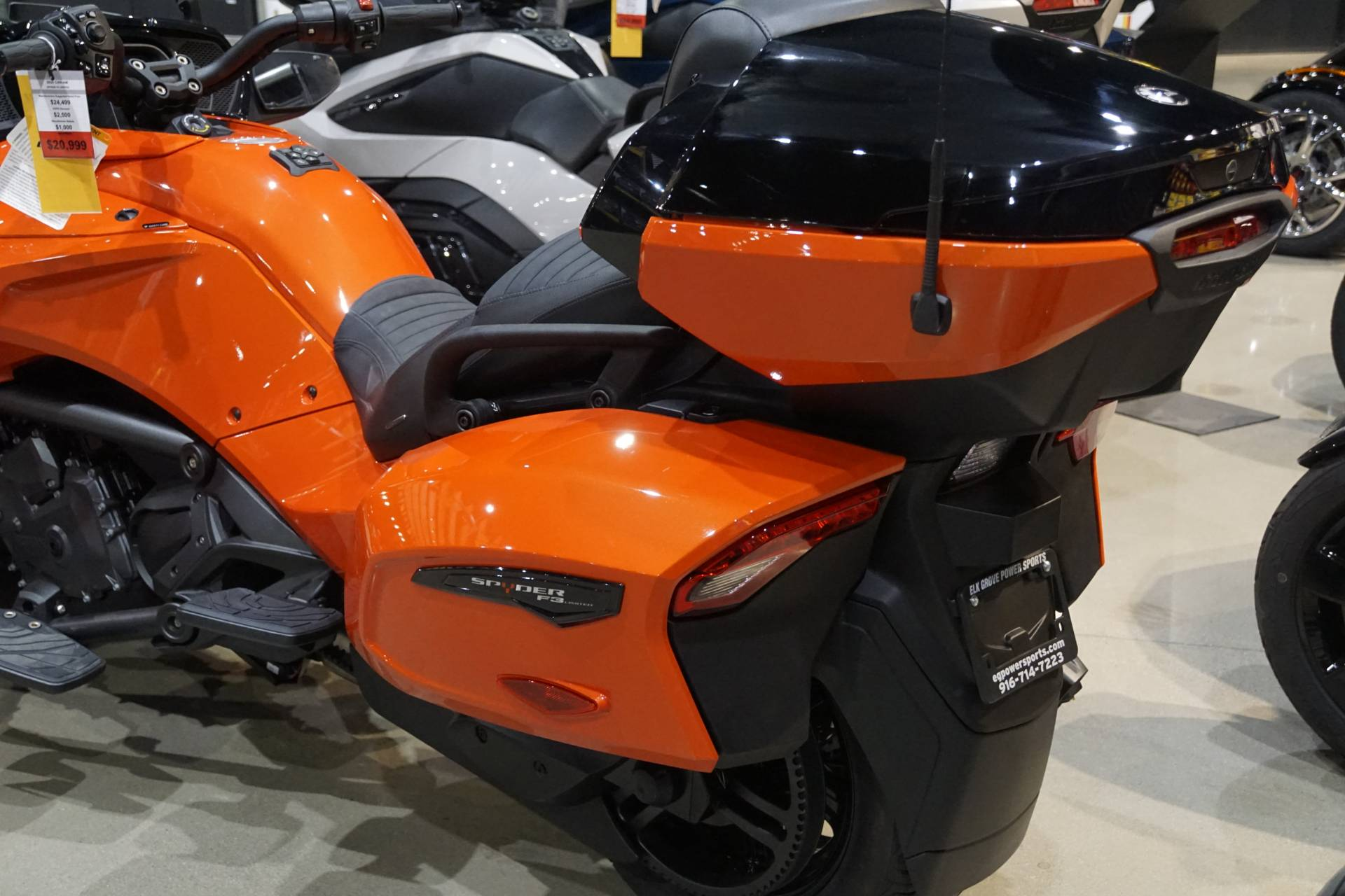 2020 Can-Am Spyder F3 Limited in Elk Grove, California - Photo 11