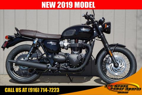 2019 Triumph Bonneville T120 Black in Elk Grove, California - Photo 1
