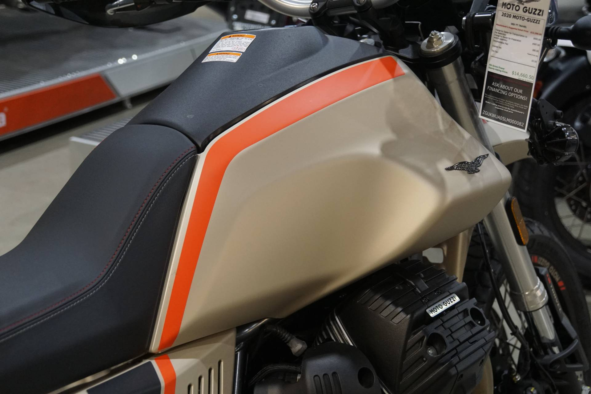 2020 Moto Guzzi V85 TT Travel in Elk Grove, California - Photo 10