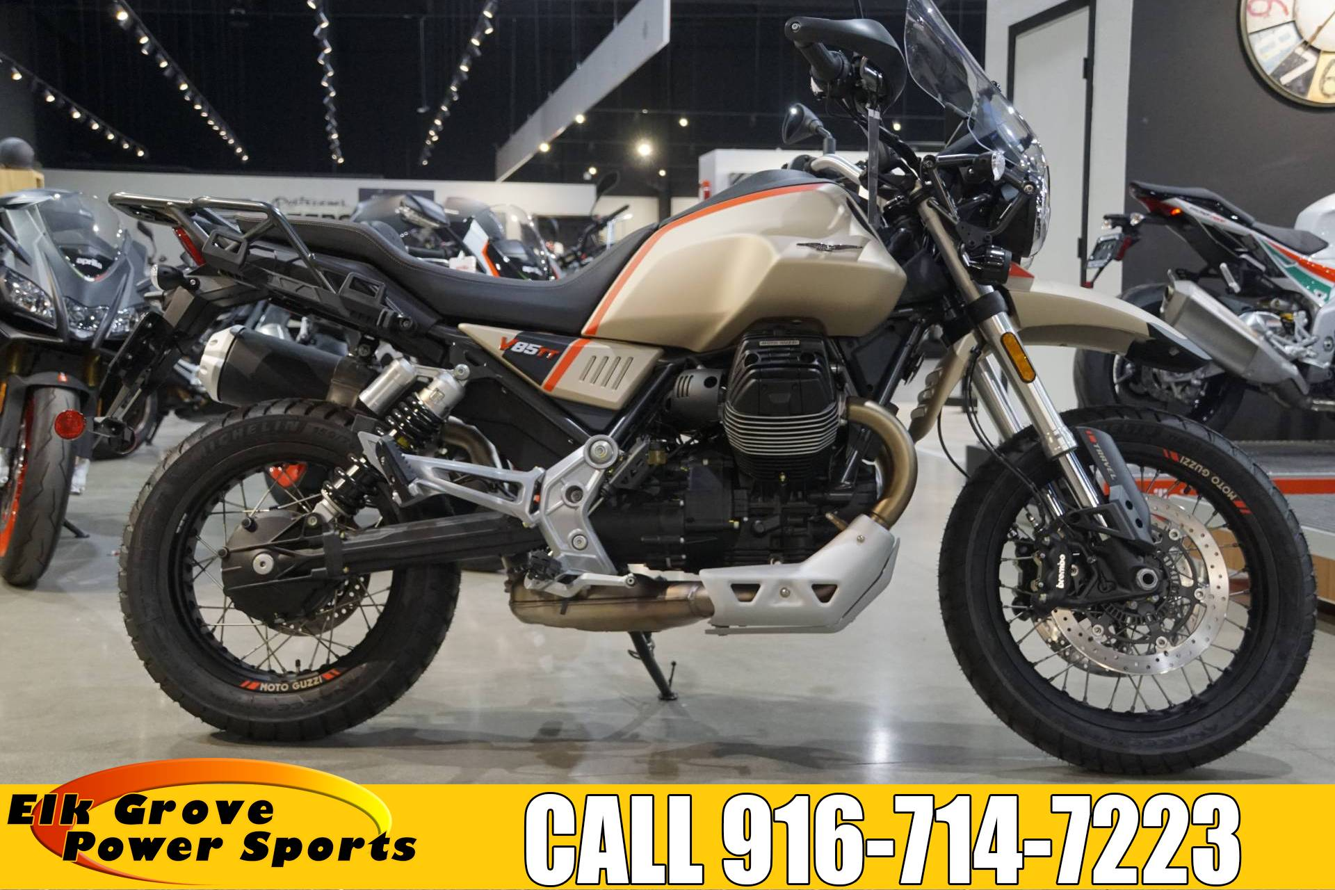 2020 Moto Guzzi V85 TT Travel in Elk Grove, California - Photo 1