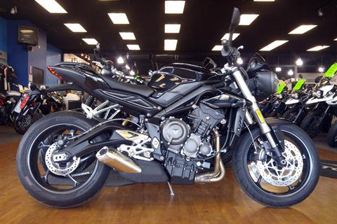 2018 Triumph Street Triple S in Elk Grove, California