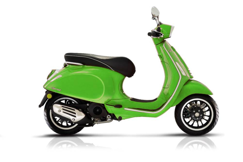 2019 Vespa Sprint 150 E4 ABS in Elk Grove, California