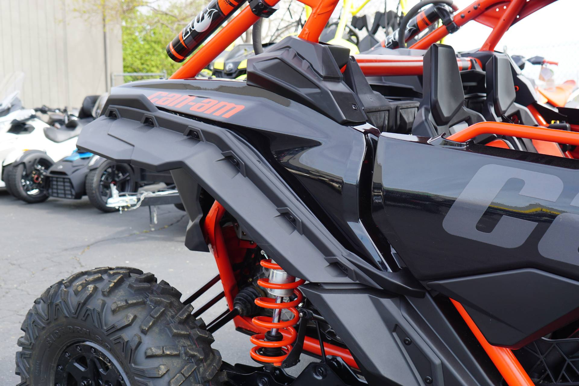 2018 Can-Am™ Maverick X3 Max X rs Turbo R 7