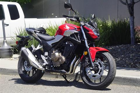 2019 Honda CB500F ABS in Elk Grove, California - Photo 3