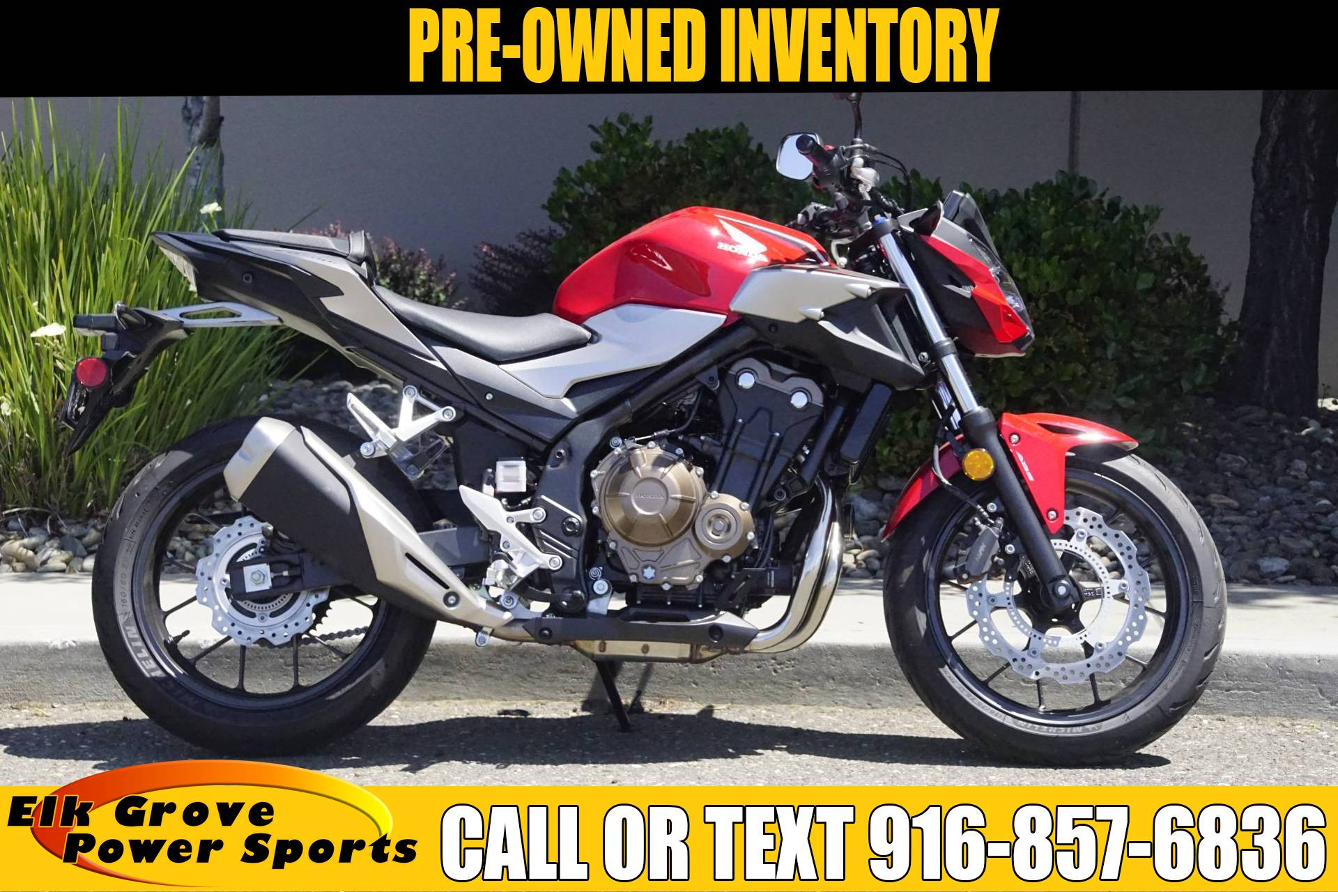 2019 Honda CB500F ABS in Elk Grove, California - Photo 1