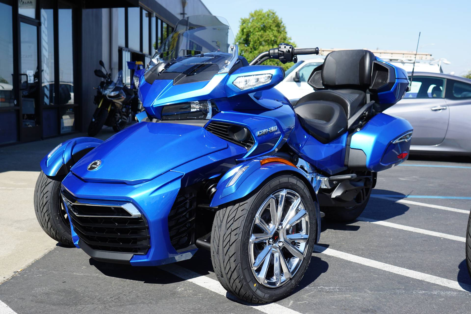 new 2018 can am spyder f3 limited motorcycles in elk grove ca stock number cans000654. Black Bedroom Furniture Sets. Home Design Ideas
