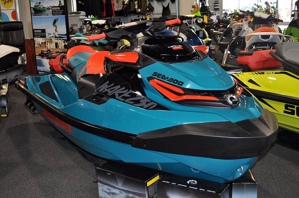 2018 Sea-Doo WAKE Pro 230 iBR Incl. Sound System 2