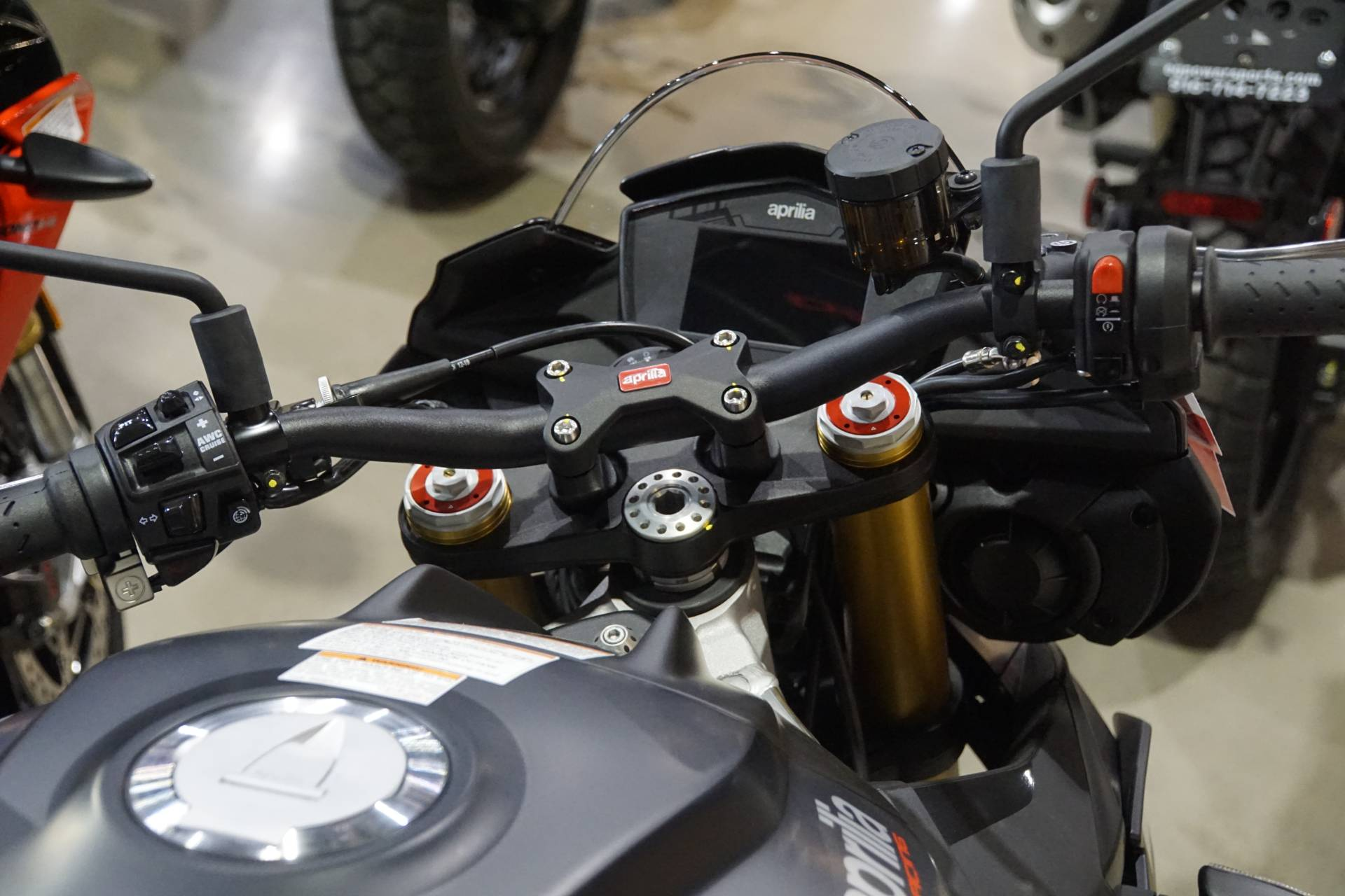 New 2020 Aprilia Tuono V4 1100 Rr Abs Motorcycles In Elk Grove Ca Stock Number Apr001238