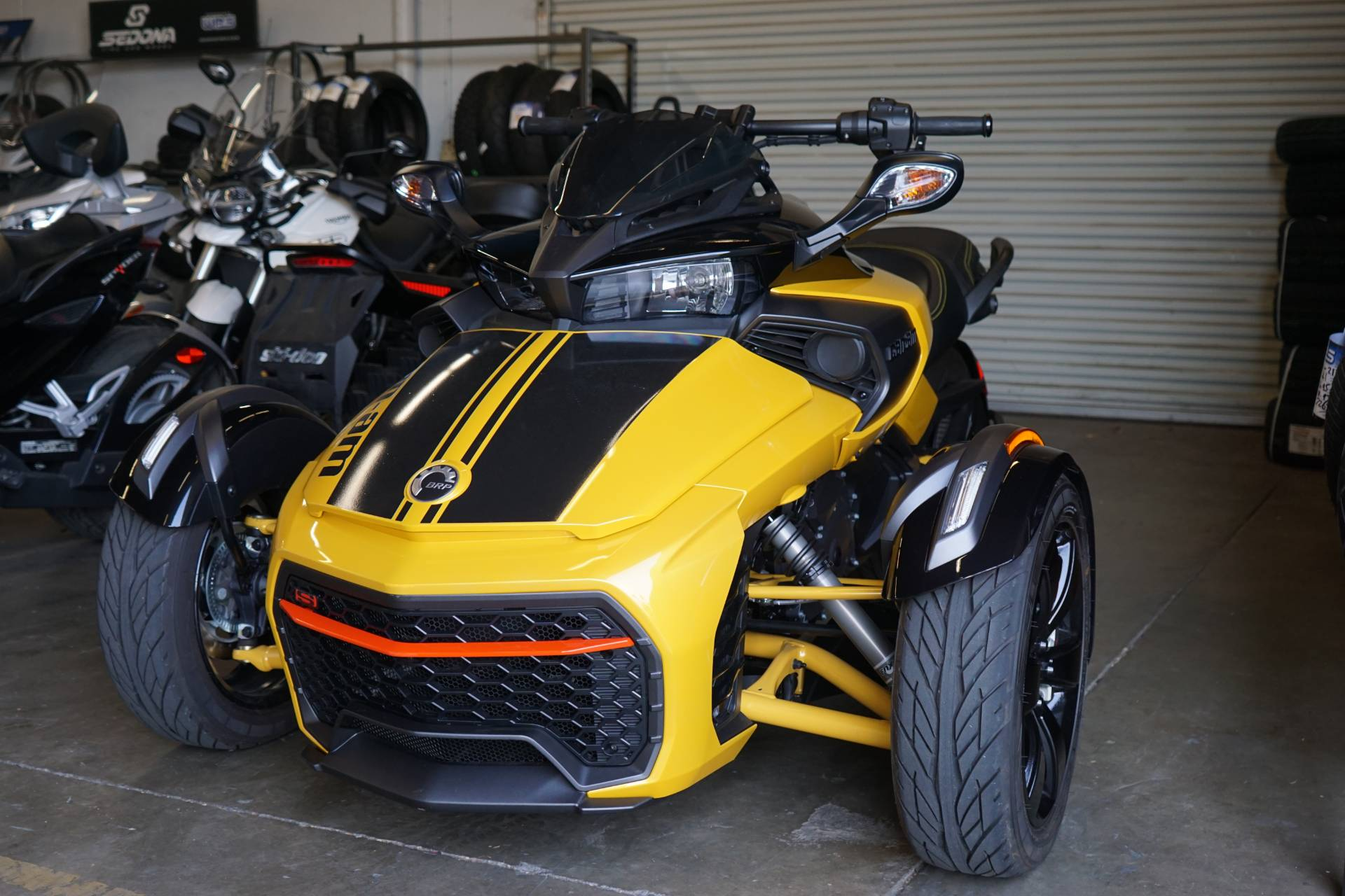 2017 Can-Am Spyder F3-S Daytona 500 SE6 in Elk Grove, California
