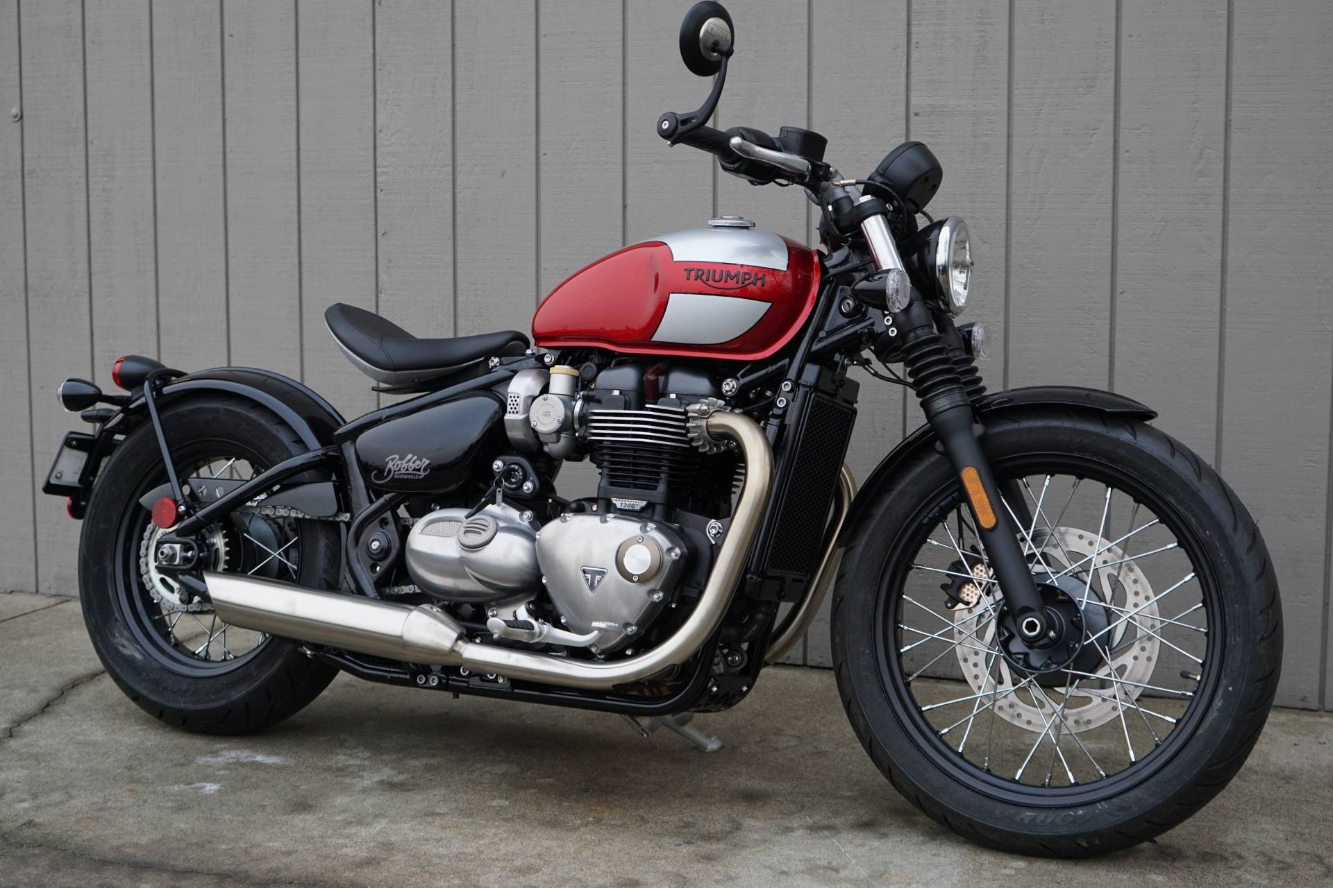 New 2019 Triumph Bonneville Bobber Motorcycles In Elk Grove Ca