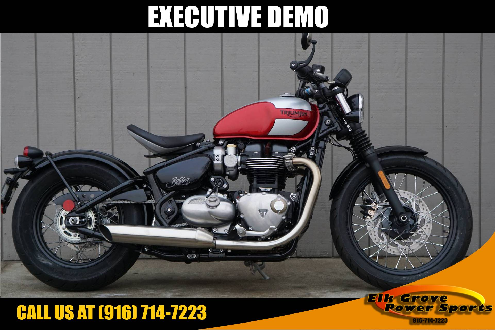 2019 Triumph Bonneville Bobber in Elk Grove, California - Photo 1